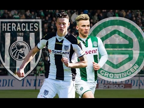 Heracles Almelo 5-1(6-3) FC Groningen (15-05-2016) - HIGHLIGHTS