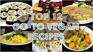TOP 12 FAVOURITE CHEAP VEGAN RECIPES #VEGANUARY | Cheap Lazy Vegan