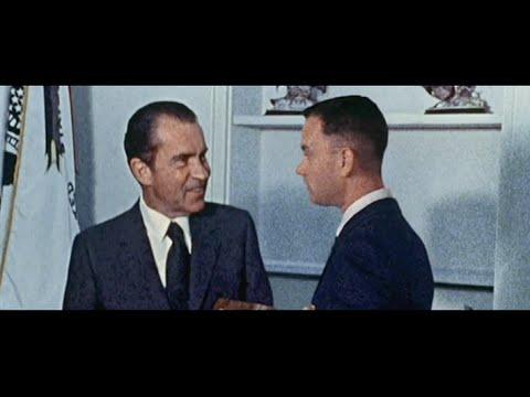 Forrest Gump (9/10) Best Movie Quote - Watergate Scandal (1994)