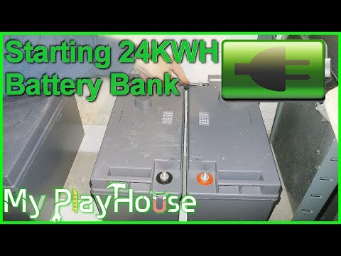 24Kwh Solar 48Volt Home Power Bank start - 584
