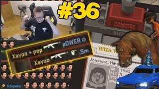 #36 XAYOO - PRZEGLĄD TWITCH.TV, COUNTER STRIKE GO, PAPERS PLEASE I INNE