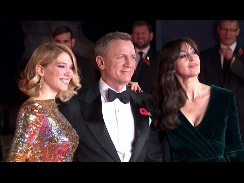 SPECTRE Official UK Premiere B-ROLL (2015) 007 HD
