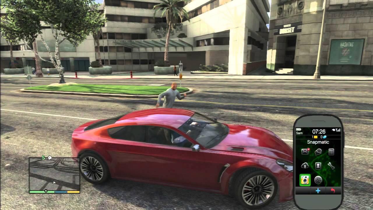 Gta 5 Red Aston Martin Youtube
