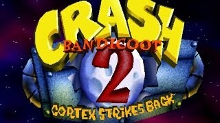Crash Bandicoot 2 Cortex Strikes Back Complete 100% Walkthrough - All Gems, All Boxes, All Crystals