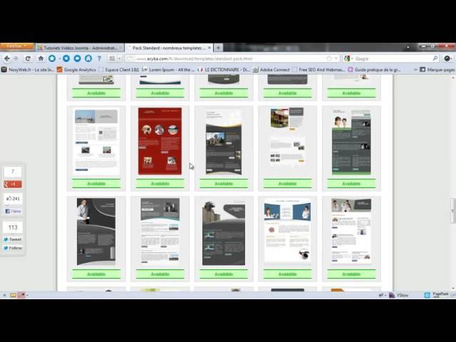 AcyMailing - Gestion des templates