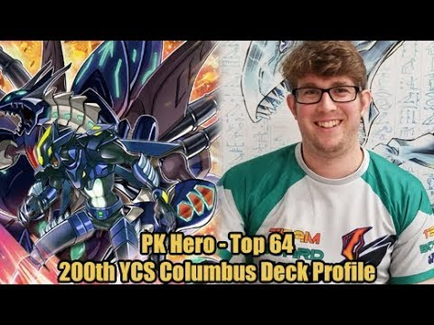 PK Hero - Top 64 200th YCS Columbus Yugioh Deck Profile
