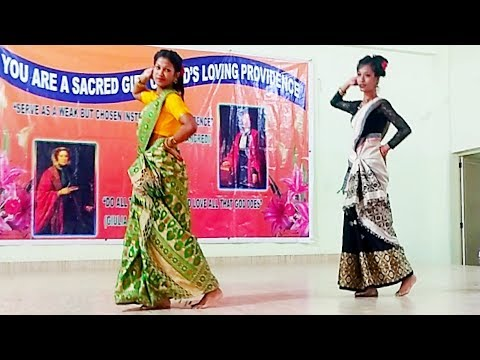 Oh Paharia Mon Assamese Song Dance At Saint Ann's College Kokrajhar