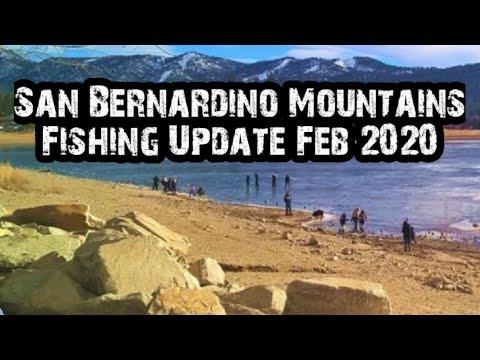 Fishing Update: San Bernardino Mountains Fishing Reports | February 18th | 2020