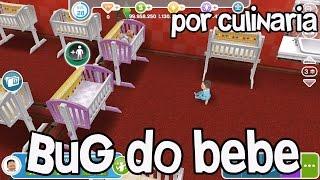 🔴 The Sims Freeplay: Bug dos Bebês Notificação de Culinária versão 5.19.2