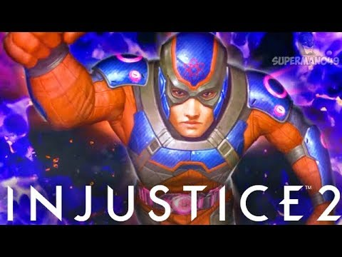 "Injustice 2: ""Atom"" Ending! Classic Ladder Walkthrough - Injustice 2 Atom Story Ending"