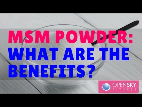 Benefits of MSM Powder - OSF Podcast Ep. 141