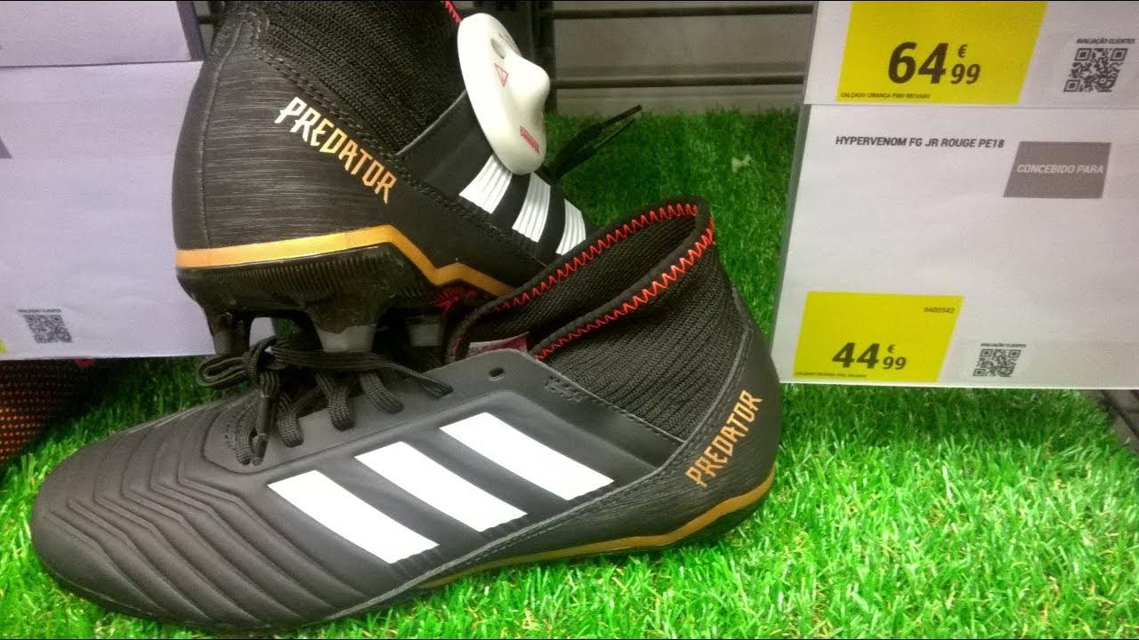 online store f25d4 2c378 Decathlon Adidas Predator Цены в Европе Бутсы Portugal