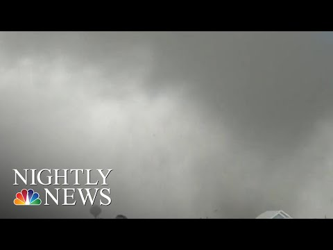 Hurricane Dorian Brings Downpours, Flood Waters And Tornadoes To The Carolinas | NBC Nightly News