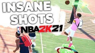 I've been making INSANE SHOTS in NBA2K21...
