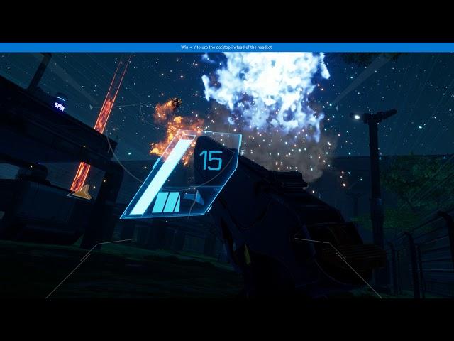 Space Ops VR PC WMR gameplay (Lenovo Explorer) - Aliens, man