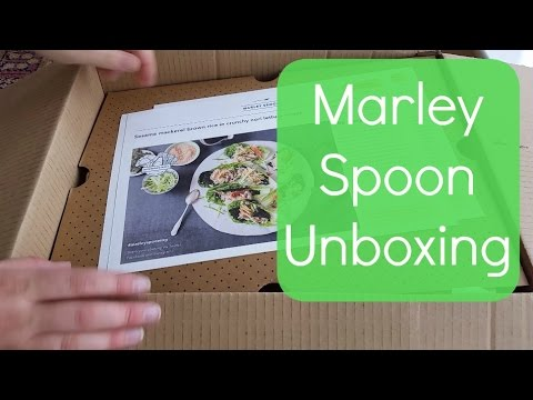 unboxing marley spoon food delivery youtube. Black Bedroom Furniture Sets. Home Design Ideas