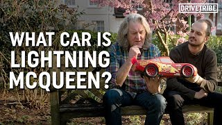 What kind of car is Lightning McQueen from Cars? Ft James May thumbnail