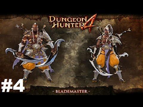 Dungeon Hunter 4 #4 Gameplay Прохождение Android/iOS Пытаемся играть за Фехтовальщика