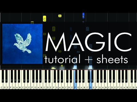 Coldplay Magic Piano Tutorial How To Play Sheets Youtube