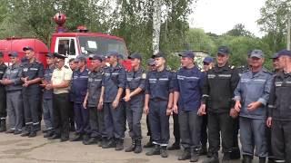 Рятувальники визначали кращих фахівців газодимозахисної служби Житомирщини