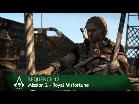 Assassin's Creed 4: Black Flag [100% Sync] Royal Misfortune [Sequence 12 - Mission 2]