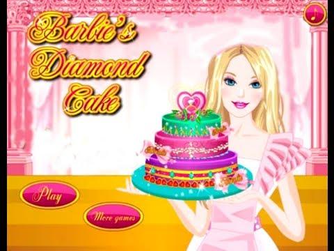 Free Online Barbie Baking Cake Games
