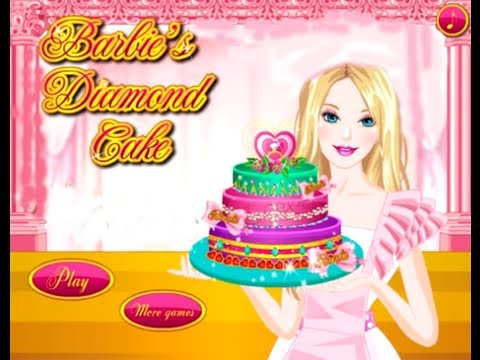 Barbie Online Games Barbie Diamond Cake Game Cooking