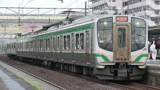 JR東北本線 岩沼駅 E721系+701系