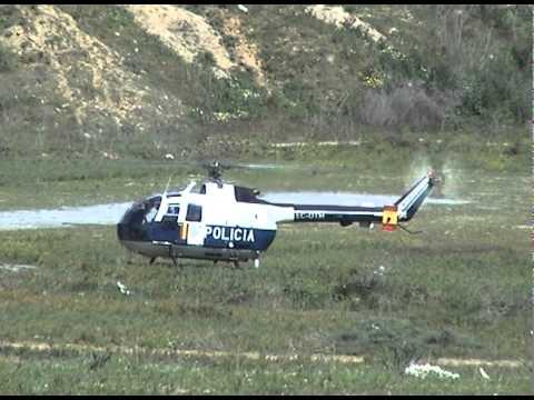 Spanish police having a call of nature.avi