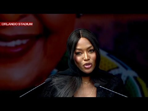 Naomi Campbell pays tribute to Mama Winnie