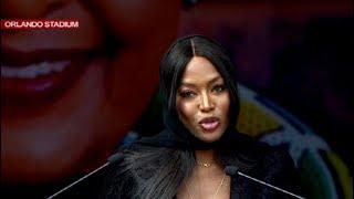 Naomi Campbell pays tribute to Mama Winnie