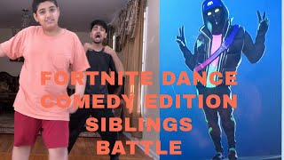 Fortnite Dance Challenge In Real Life | Comedy Edition | Siblings War
