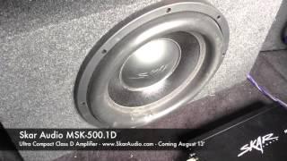 Skar Audio MSK-500.1D Product Demonstration Video