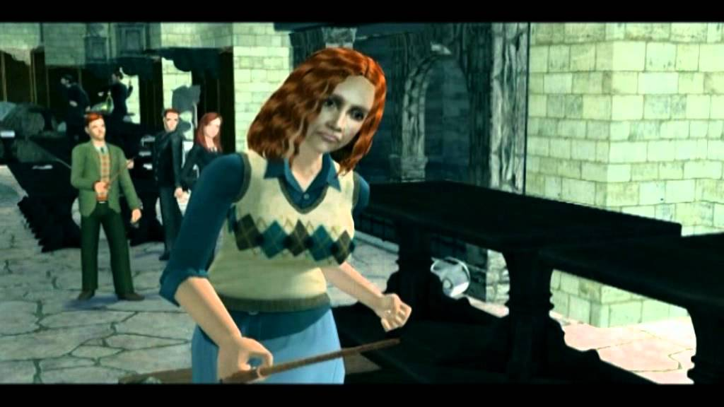 harry potter and the deathly hallows part 2 molly vs