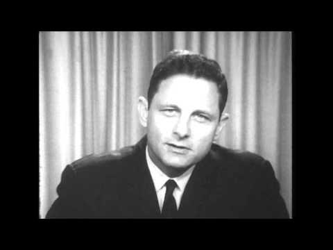 Birch Bayh U.S. Senate campaign announcement, 1968