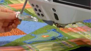 21/21 Bernina 830 Sewing Machine Video Instructions: Special Accessories