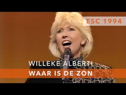 Willeke Alberti - Waar is de zon (Eurovision Song Contest 1994)