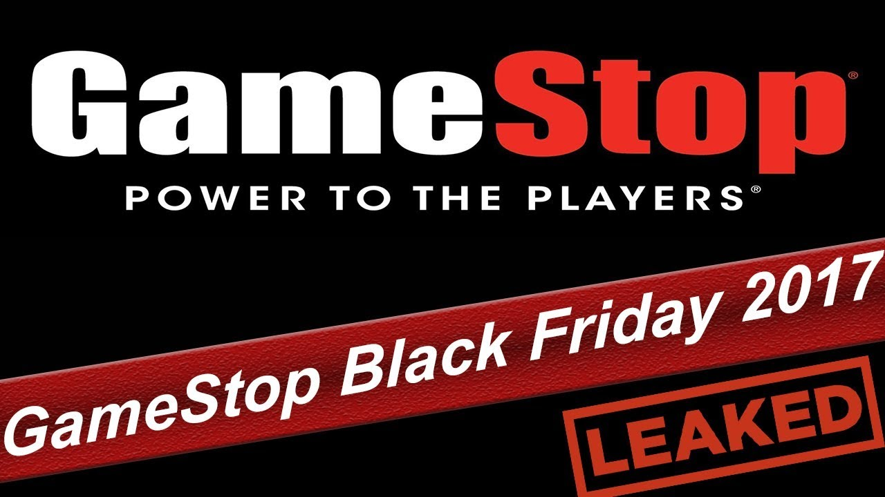 Gamestop Black Friday Deals 2017 Leaked Ad Youtube