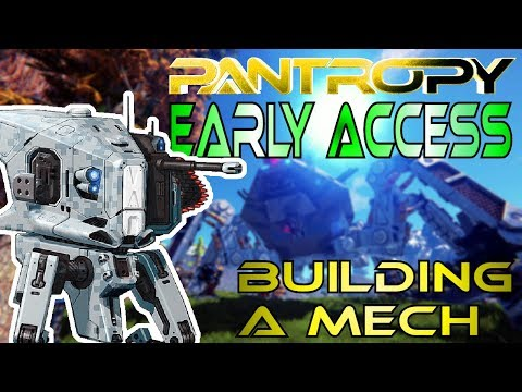 PANTROPY // EPIC SCI-FI MECH GAME - Multiplayer Mech Survival Game - First Look