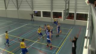 4 november 2017 BV oegstgeest M22 vs Rivertrotters M22 77-49 2nd period