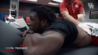 Houston Football: Day in the Life: Elijah Gooden