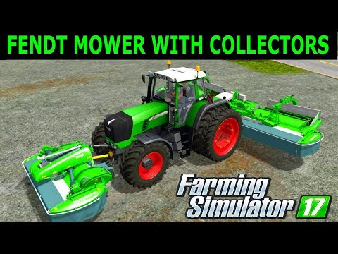 Farming Simulator Mods Fendt Mower With Collectors + 900 Vario