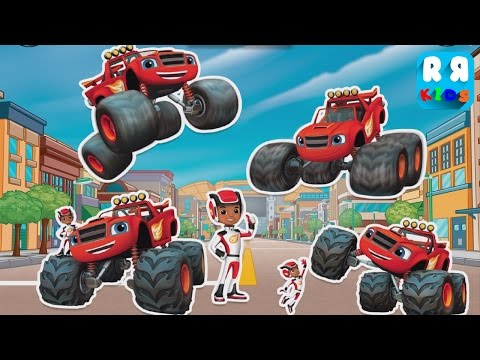 Playtime With Blaze And The Monster Machines - Play And Learning