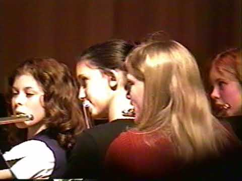 Byram Middle School Band Concert 2001 (8th Grade)