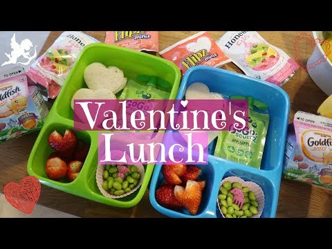 Valentine's Day School Lunch Ideas! 💕 Week 15 | Sarah Rae Vlogas |