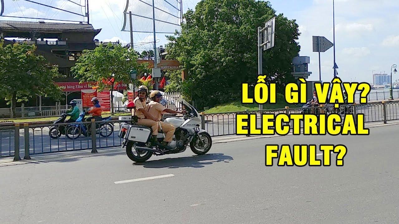 [Funny] when siren of cop motorcycle(Yamaha XJ900P) was fail when escort Cuba VIP motorocade