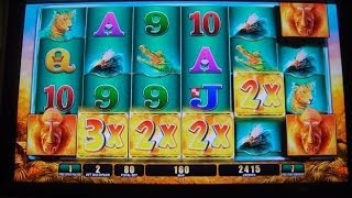 Raging Rhino SUPER MEGA HUGE BIG BIG WIN!!! Buffalo Inspired Slot Machine Bonus Round Free Games 3/3