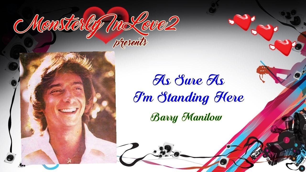 Barry Manilow - As Sure As I\'m Standing Here (1975) - YouTube