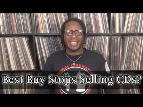 Best Buy And Target Stops Selling CDs! My Thoughts