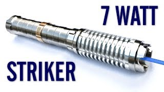Sanwu Striker 7W 455nm Blue Laser Pointer Review